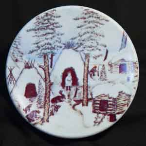 andreas alariest for arabia of finland small ethnic plate