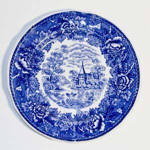 arabia of finland landscape luncheon plate
