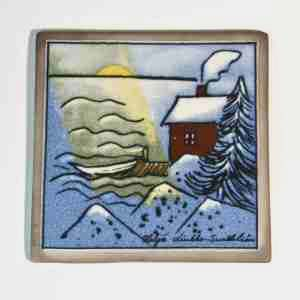 tile from arabia of finland designed by helja luikko sundstrom
