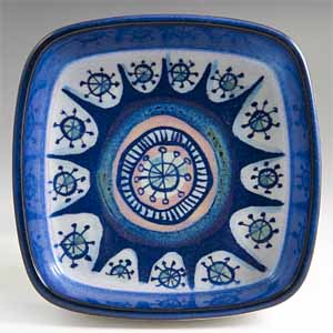 royal copenhagen small tray or ashtray designed by marianne johnson 221 over 2882