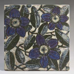 aluminia floral baca tile designed by nils thorsson 722 1401