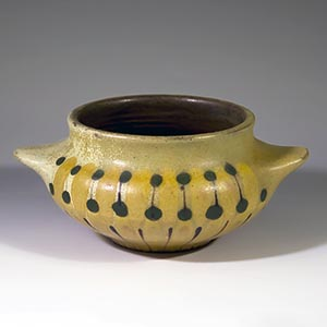 dybdahl small yellow bowl