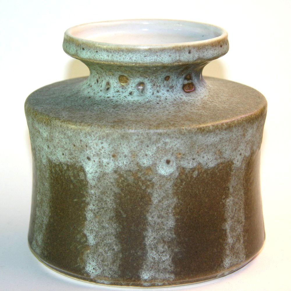 German ceramics bay west germany brown and tan round vase reviewsmspy