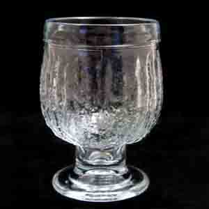 riihimaki molded drinking glass