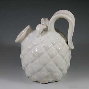 michael andersen white pineapple shaped pitcher 4421-2