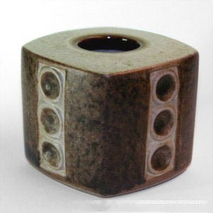 michael andsen and sons marianne starck short square vase