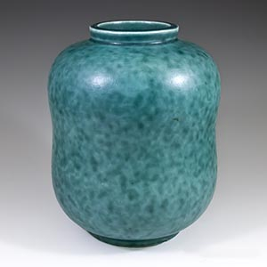 Gustavsberg Argenta vase without silver inlays