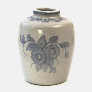 small hjorth vase with flowers