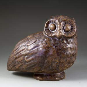 owl figurine designed by emil ruge