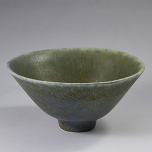 Carl Harry Stalhane for Rorstrand, green SHX bowl