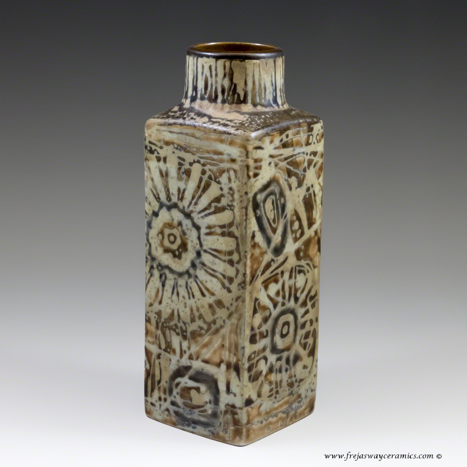 Royal copenhagen page 1 royal copenhagen small baca vase from the sunflower series by nils thorsson its unusual to reviewsmspy
