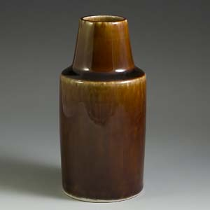 soholm short brown bottl vase 3302
