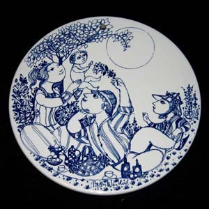 bjorn wiinblad afternoon plate