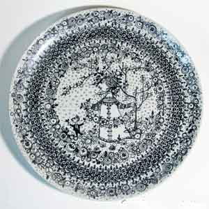 wiinblad spring plate from the seasons series